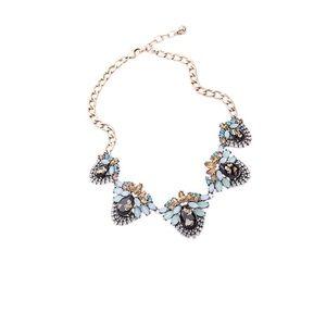 Jewelry - Multi Color Rhinestone Statement Necklace